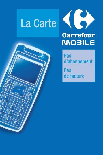 La Carte - Carrefour.fr