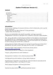 Link til vejledning for Gadwin Print Screen 4