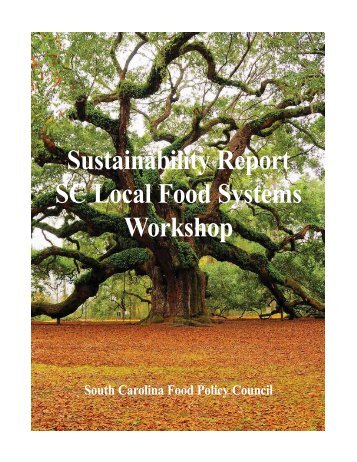 Sustainable SC Local Food Systems Report - South Carolina ...