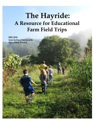 A Resource for Educational Farm Field Trips - South Carolina ...
