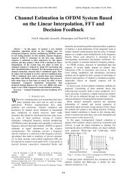 Channel Estimation in OFDM System Based on the Linear ...