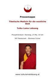 Pressemappe Tibetische Medizin für die westliche ... - Hennrich.PR