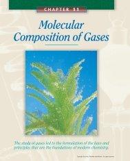 Molecular Composition of Gases - Teacher