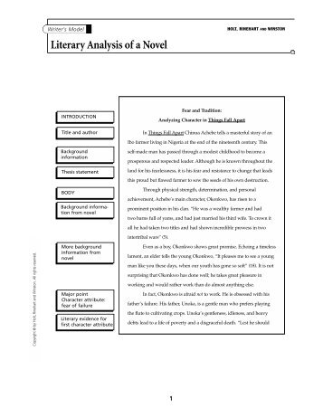 literary analysis for all quiet on Critical insights: all quiet on the 10-14 essays offering current critical analysis by top literary proclaimed when all quiet on the western front was.