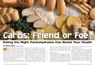 Friend or Foe? Eating the Right Carbohydrates Can Boost Your Health