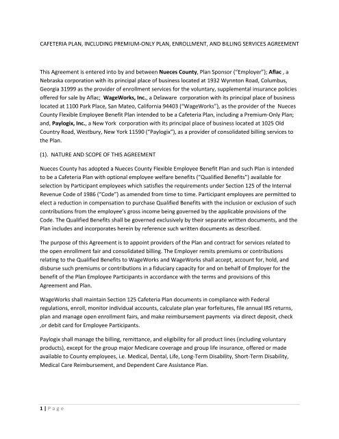 RFP 2912-12 contract - Agenda