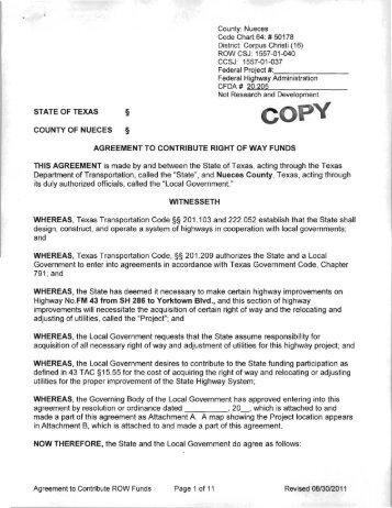 Interlocal agreement city of driscoll radio system agenda fm 43 row agreement agenda platinumwayz