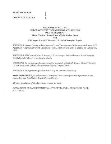 Agreement 1 sticker lease agreement agenda platinumwayz