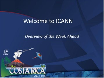 Presentation Title - Costa Rica - icann