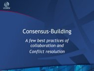 Consensus Building | A few best practices of ... - Costa Rica