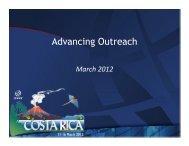 Advancing Outreach - Costa Rica - icann