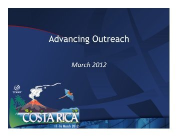Advancing Outreach - Costa Rica - icann