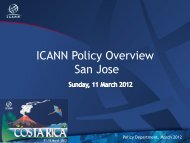 Download - Costa Rica - icann