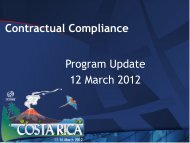 Contractual Compliance - Program Update - Costa Rica - icann
