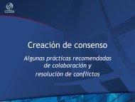Creación de consenso - Costa Rica