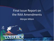 RAA Final Issues Report - Costa Rica - icann