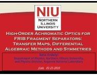 High-Order Achromatic Optics for FRIB Fragment Separators ... - CASA