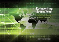 Using Mobile Technology to Change the Media - media140 Worldwide