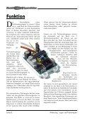 Lage- und Tiefenregler Betriebsanleitung - Modell-Uboot-Spezialitäten - Seite 2