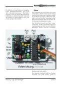 Lage- und Tiefenregler Betriebsanleitung - Modell-Uboot-Spezialitäten - Seite 3