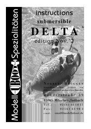 Anleitung DELTA engl 11.'2 - Modell-Uboot-Spezialitäten