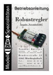 Anleitung als PDF hier - Modell-Uboot-Spezialitäten