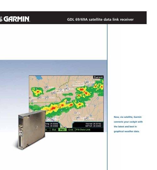 GDL 69/69A satellite data link receiver - Garmin