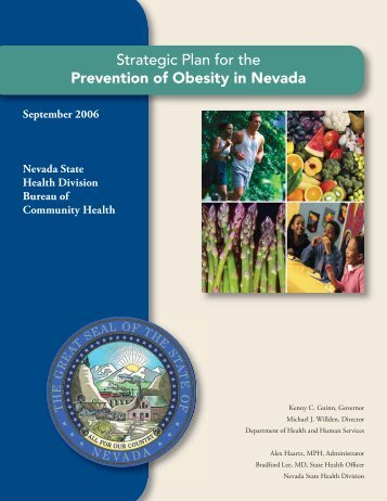 Strategic Plan for the Prevention of Obesity in - Nevada State Health ...