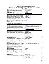 Community Resources/Las Vegas - Nevada State Health Division ...