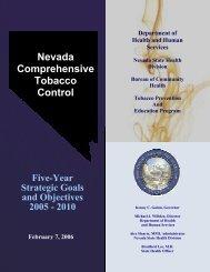 Nevada Comprehensive Tobacco Control - Nevada State Health ...