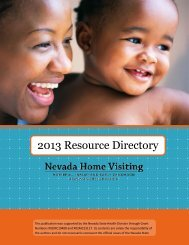 2013 Resource Directory - Nevada State Health Division - State of ...