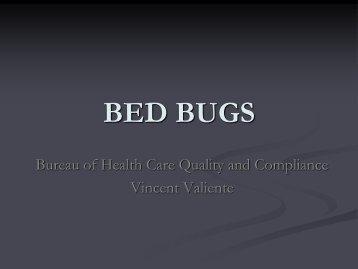 Bed Bugs Presentation
