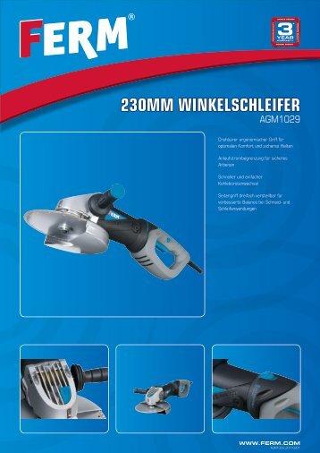 230MM WINKELSCHLEIFER - FERM.com