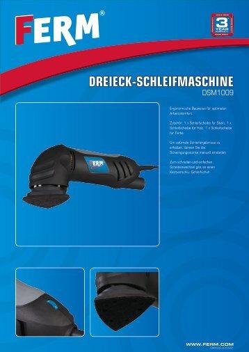 DREIECK-SCHLEIFMASCHINE - FERM.com
