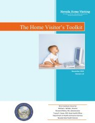 The Home Visitor's Toolkit - Nevada State Health Division - State of ...
