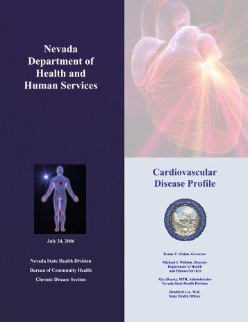 Cardiovascular Disease Profile - Nevada State Health Division ...