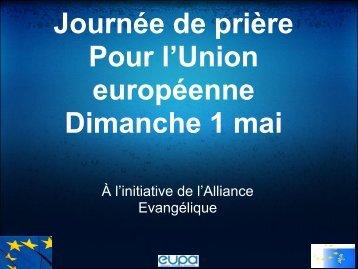 Journée de prière Pour l'Union européenne Dimanche 1 mai - home ...