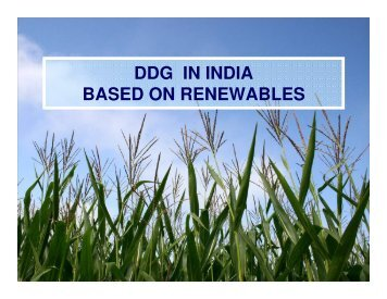 DDG IN INDIA BASED ON RENEWABLES - Ministry of Power