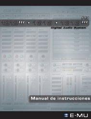 Manual de instrucciones - Creative