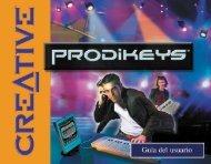 Partes de Creative Prodikeys DM
