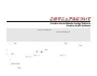 Sound Blaster Audigy Platinum - Creative