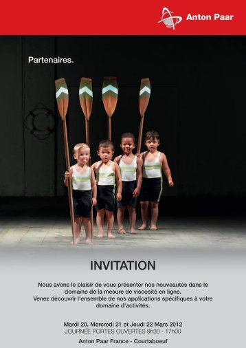 INVITATION - Anton Paar.com