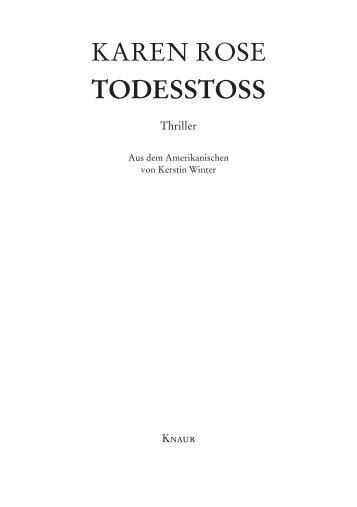 TODESSTOSS