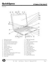 HP EliteBook 2740p Tablet PC - FTP Directory Listing - HP