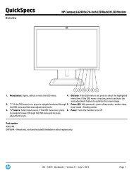HP Compaq LA2405x 24-inch LED Backlit LCD Monitor