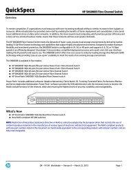 HP SN6000B Fibre Channel Switch