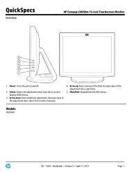 HP Compaq L5009tm 15-inch Touchscreen Monitor