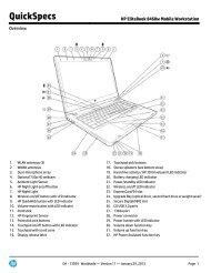 HP EliteBook 8460w Mobile Workstation - FTP Directory Listing - HP