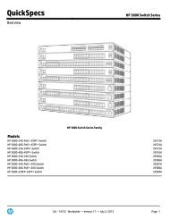 HP 3800 Switch Series - FTP Directory Listing - HP