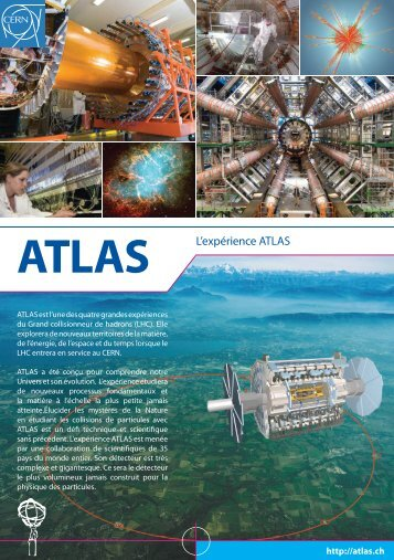 ATLAS L'expérience ATLAS